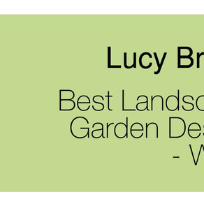 Winner of the Best Landscape Architecture and Garden Design Company 2019 Award!