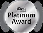 Platinum Award Gardeners World Live