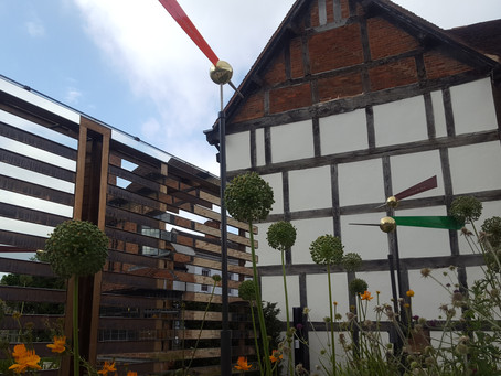 Shakespeare's New Place garden visit