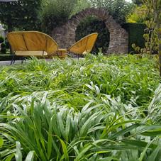 Luddington rear garden