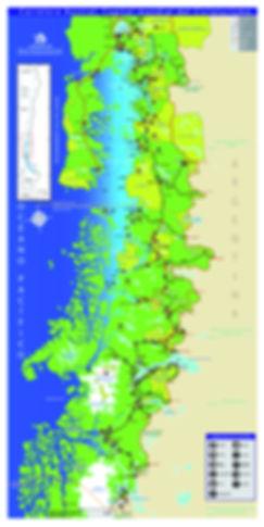Mapa Cicloturismo Carretera Austral