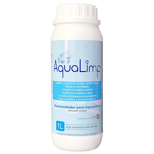 AquaLimp - Biorremediador e Probiótico para Aquacultura