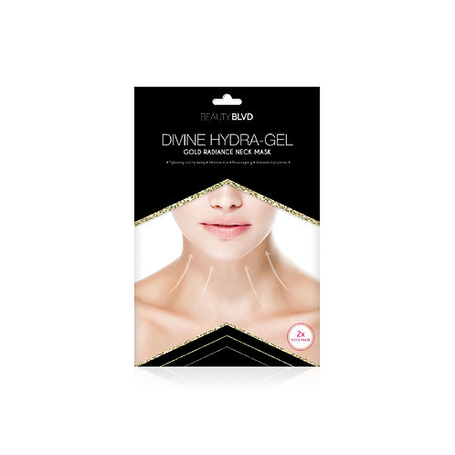 Divine Hydra Gel Neck Mask.