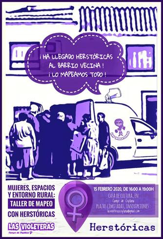 En febrero colaboramos con el proyecto Herstóricas.