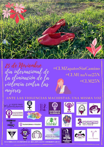 25N. Colectivos feministas de Clm.
