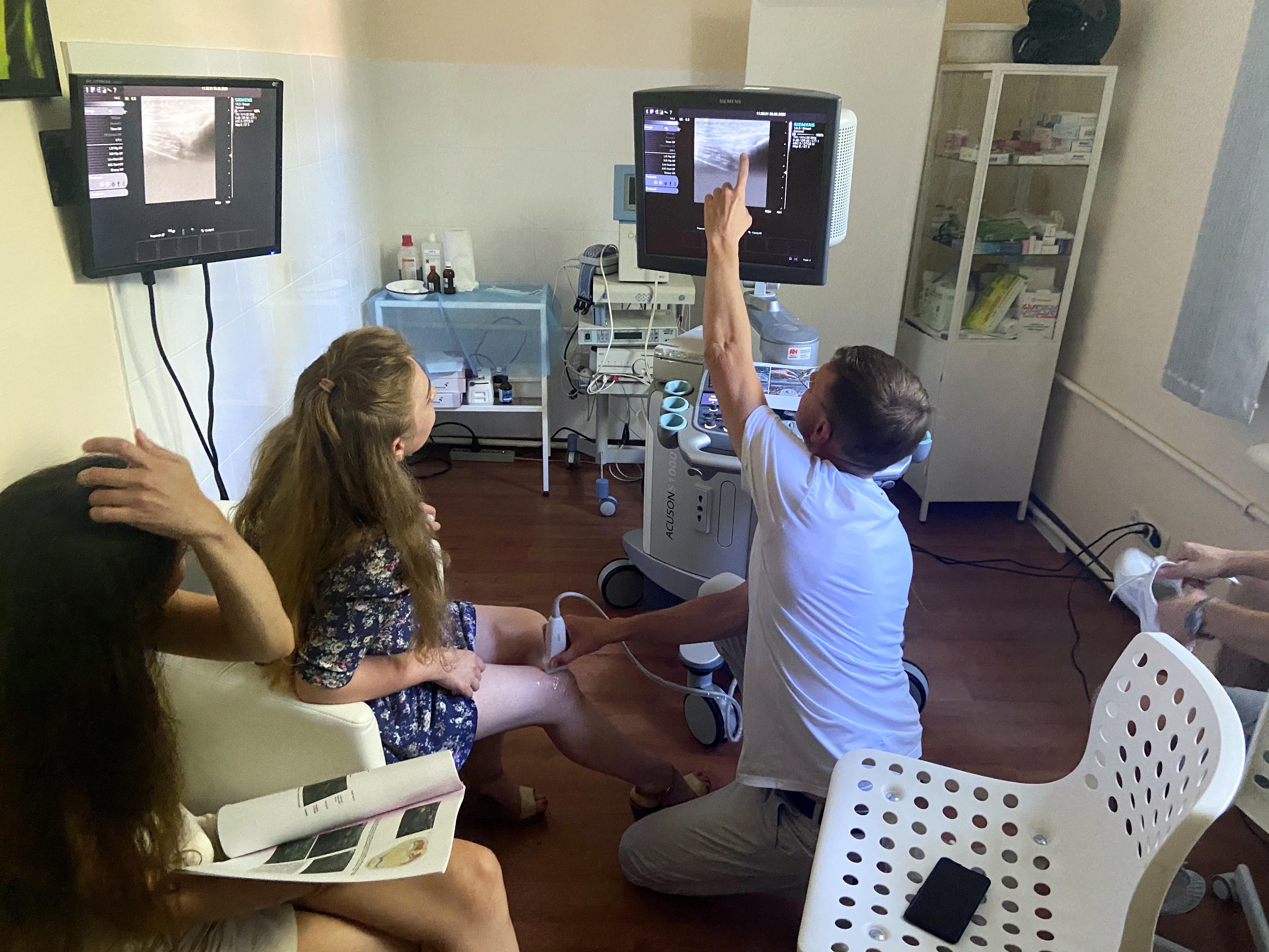 УЗИ в травматологии. индивидуальное обучение