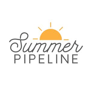 Logo design for summer advertising campaign, 2019.