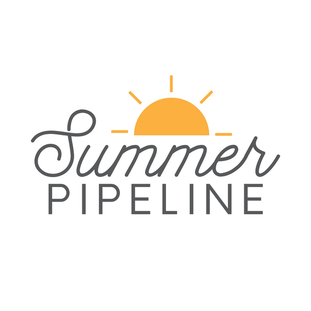 Logo design for summer advertising campaign, 2019.