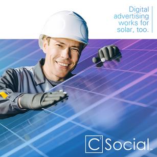 Social media content for C Squared Social, 2020