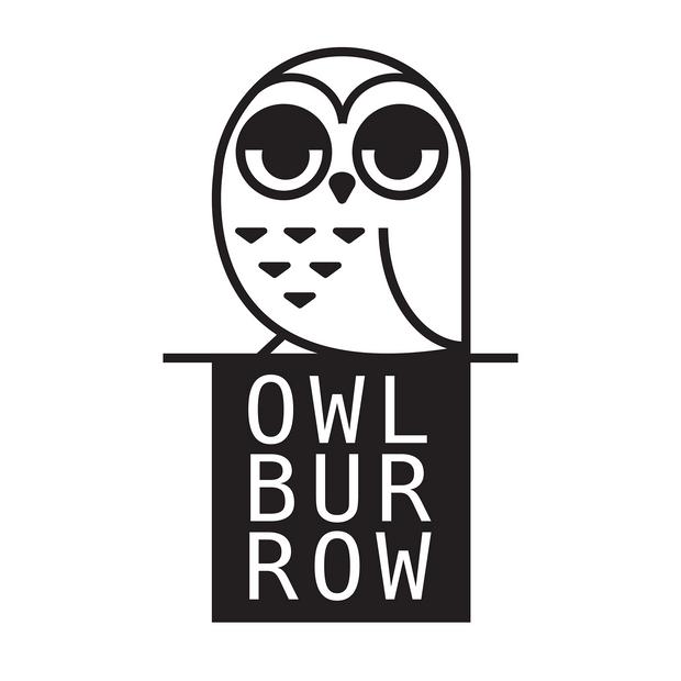 Logo design for Owlburrow Illustration (that's me!) 2020.