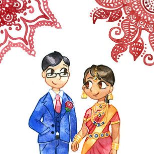 Wedding invitation, 2018