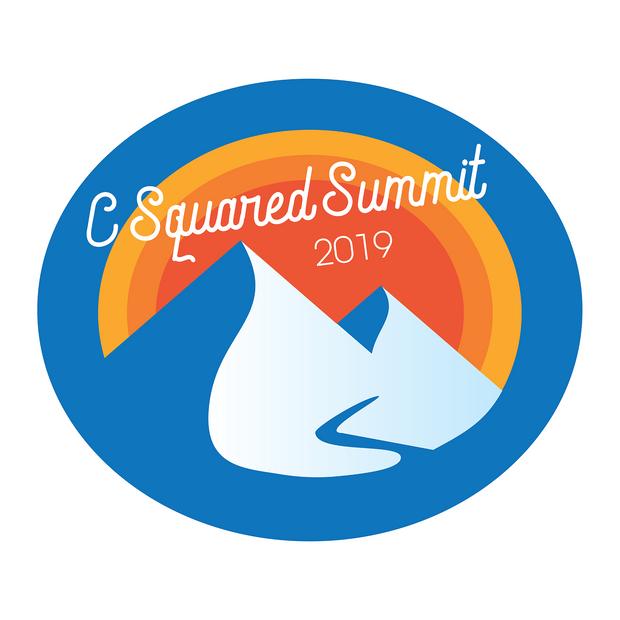 Sticker design for company summit, 2019