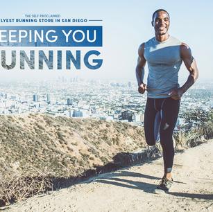 Social media content for Milestone Running, 2020