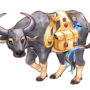 Carabao design for client, 2018.