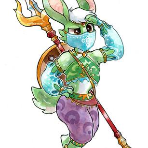 Zelda fan character, 2019