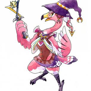 Zelda fanart character design, 2020.