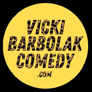 Website logo for Vicki Barbolak, 2018