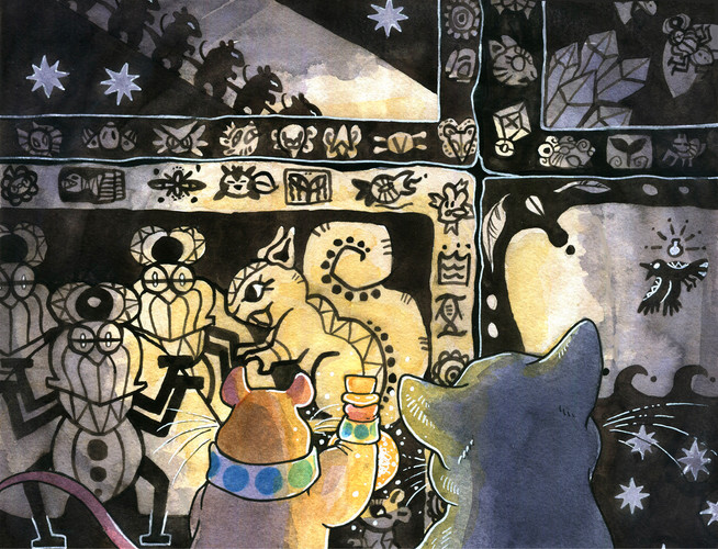 A panel from Taxicat