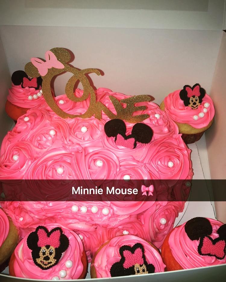 MinnieMouseCakeAndCupcakes
