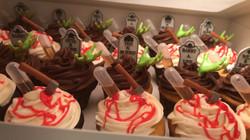 Infused Halloween Cupcakes