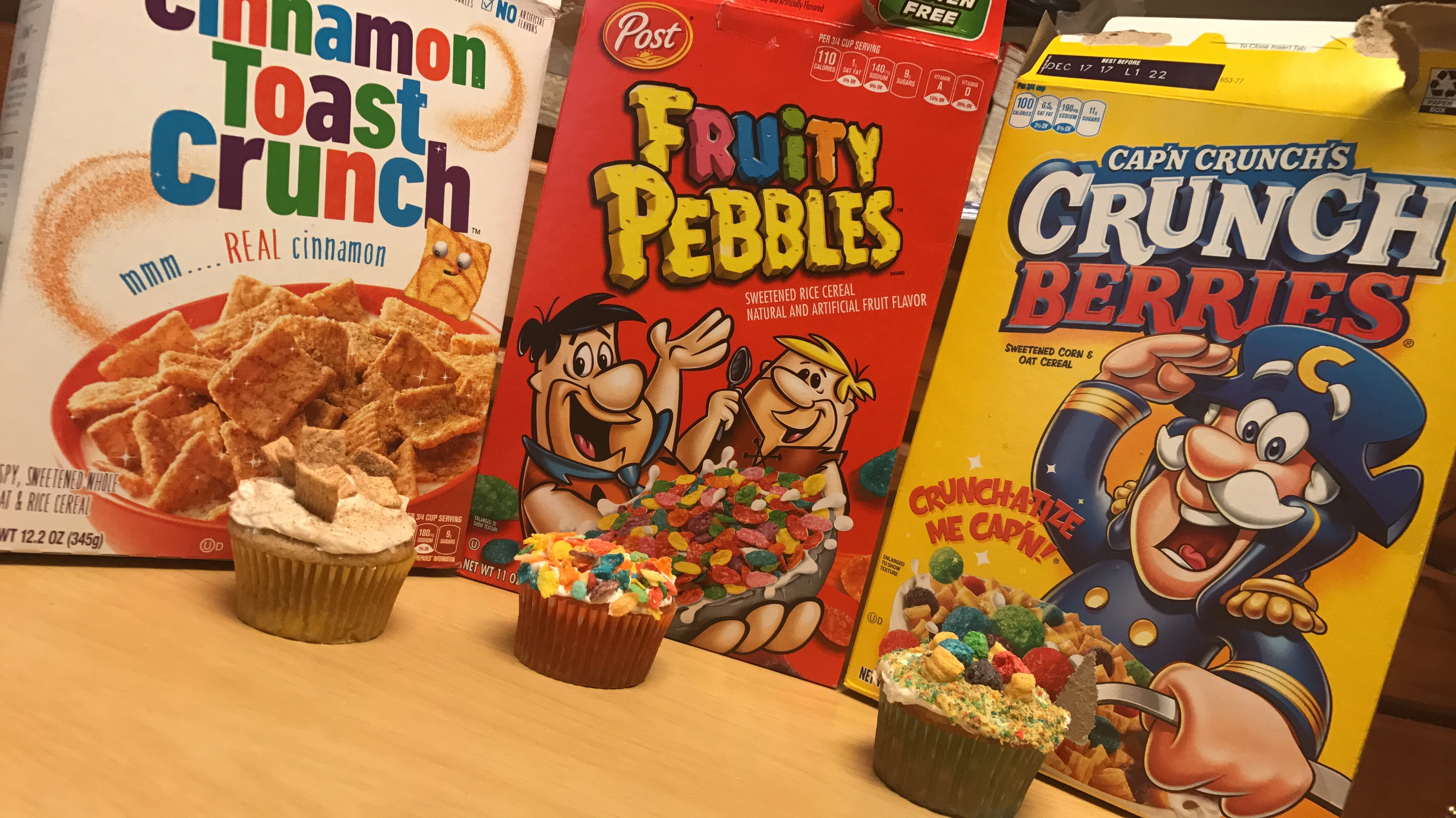 Cereal Inspired Cupcakes