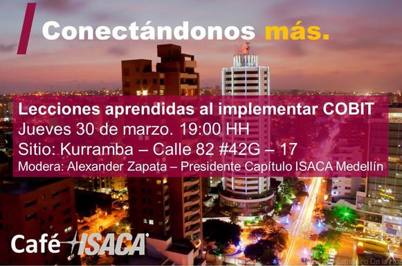 Barranquilla: Café ISACA Marzo 30