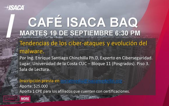 Café ISACA BAQ - 19 septiembre