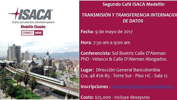 Café ISACA Medellín - mayo
