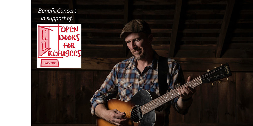 Singing out for Refugees: Peter Mulvey in Concert to support Open Doors for Refugees, Madison