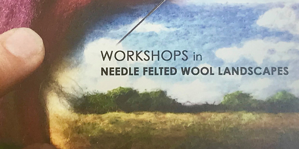 Needle Felted Wool Workshops with Jaana Mattson