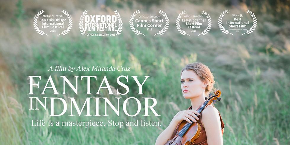 Bravebird Presents A Special Screening Of The Internationally Acclaimed Short-Film: Fantasy In D Minor