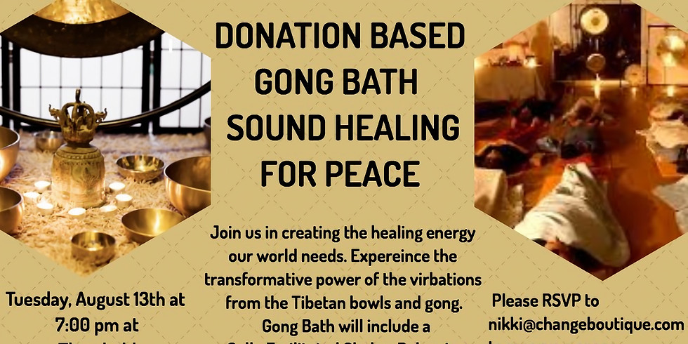 Sound Healing for Peace
