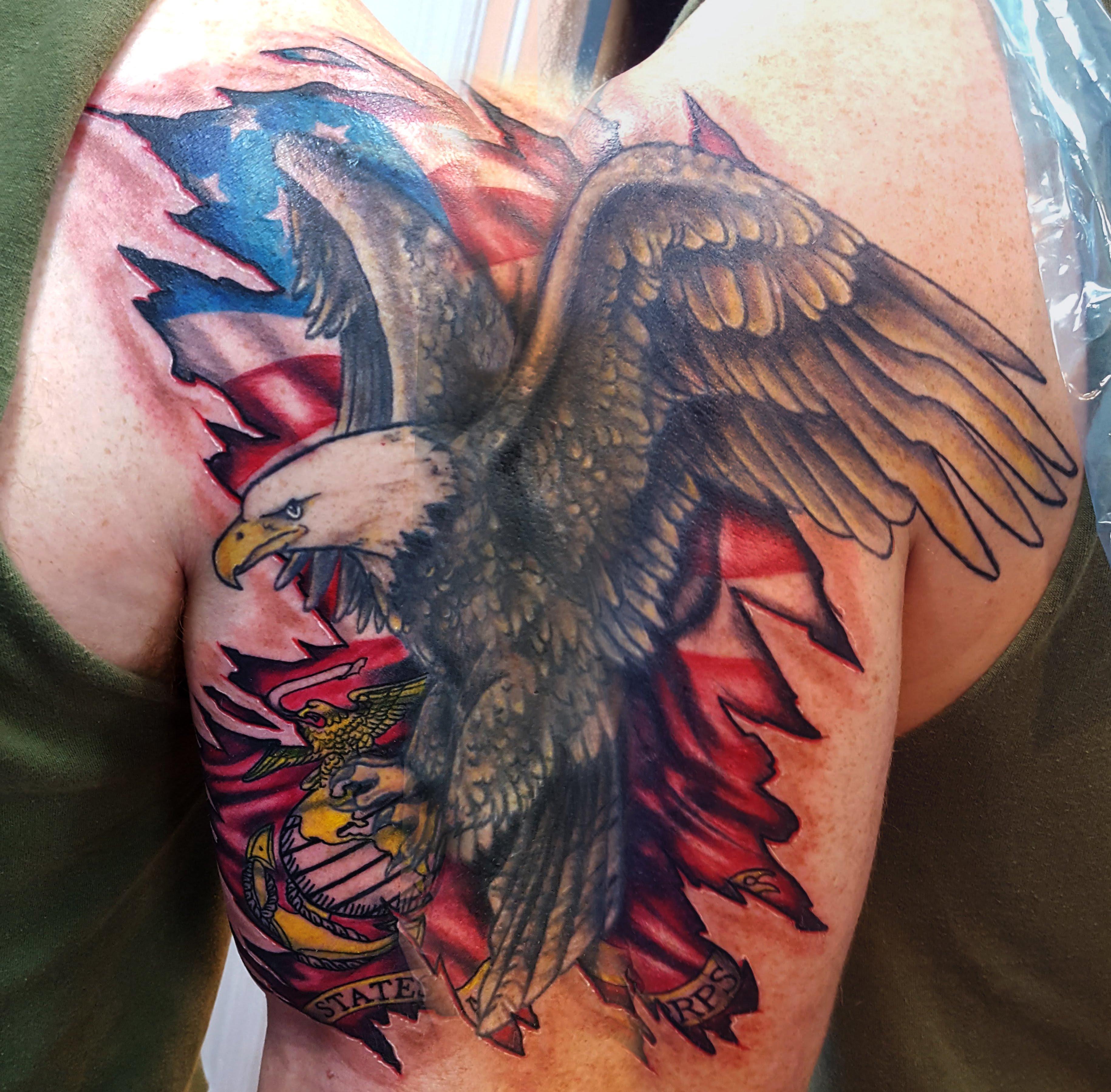 eagle stitch