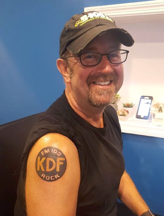 Big Dave with his new Tattoo!