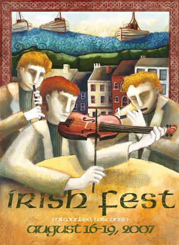 Irish Fest Poster