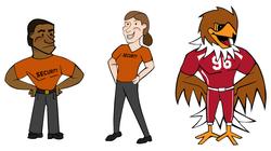 UofU Characters
