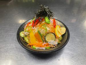 和食あやめ亭 「つまサラ高原野菜の揚げサラダ_968円(税込)」