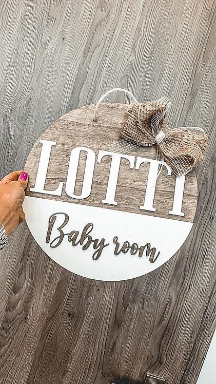 BabyRoom tábla -35cm