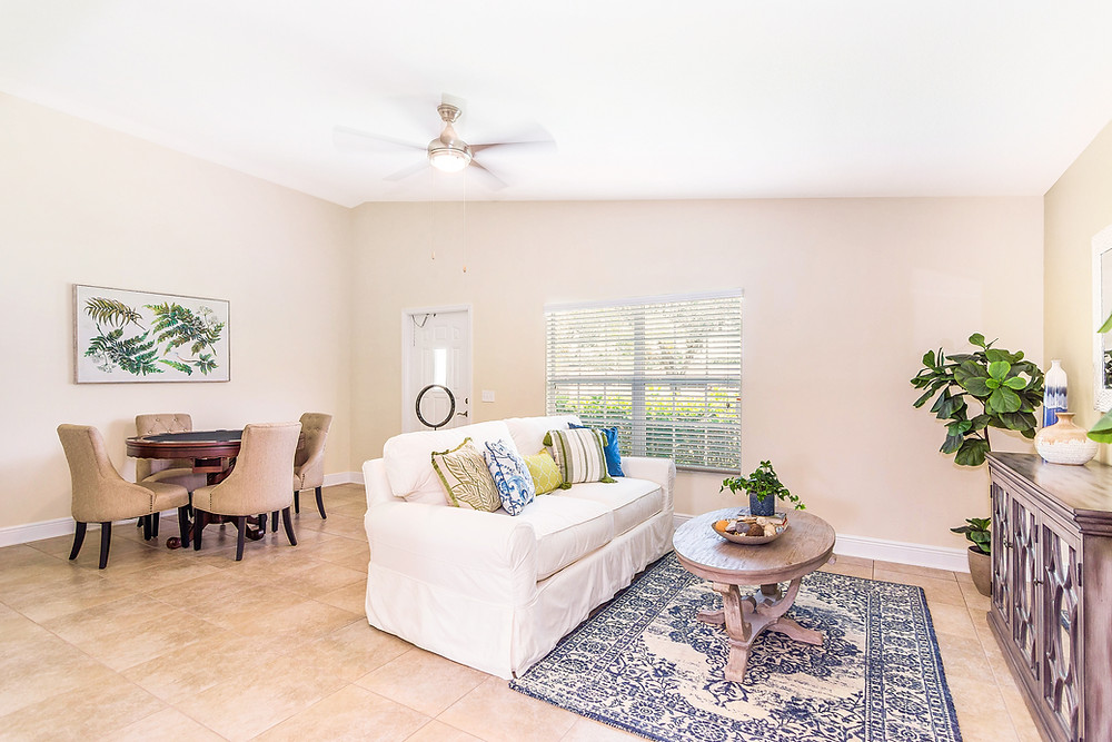 Apartment Model after Staging