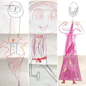 Easy Art Games at School and Home