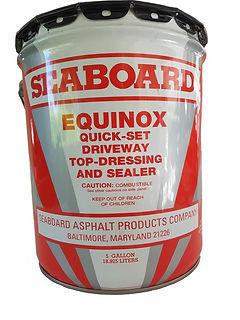 Asphalt Sealer Equinox Asphalt rejuvenator and sealer