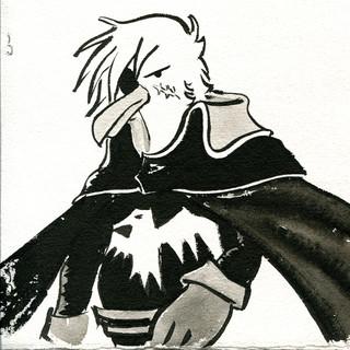 fransoua.captain albatros.encre et papie