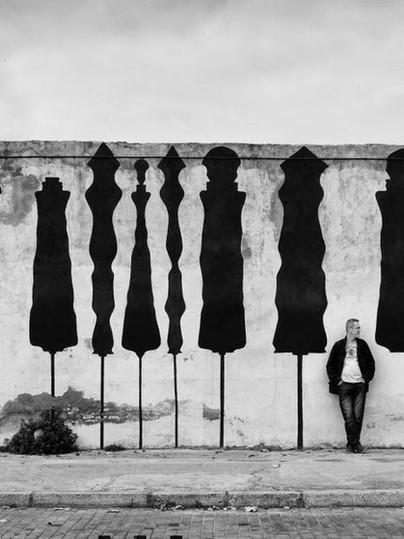 Wall of figures