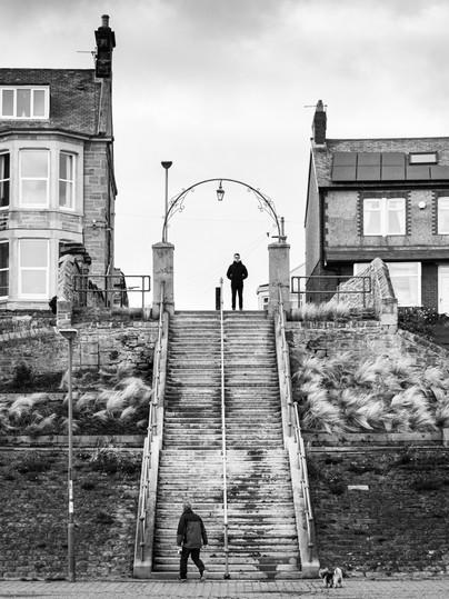 Promenade steps