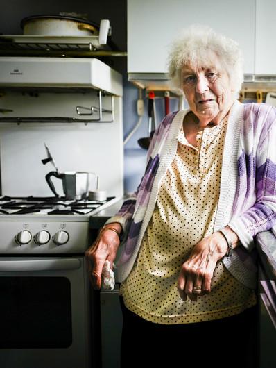 Rona in her Kitchen