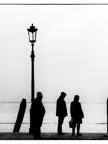 Venice bus queue