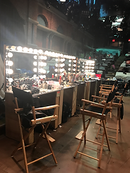 backstage vanity table for makeup