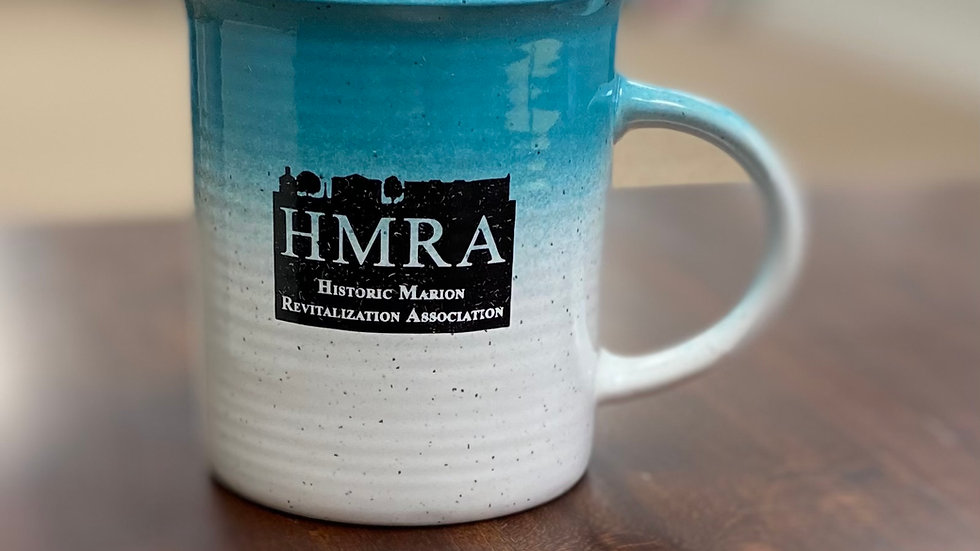 HMRA Teal Ombre Mug