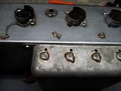 Vintage Pre amp sockets Installed