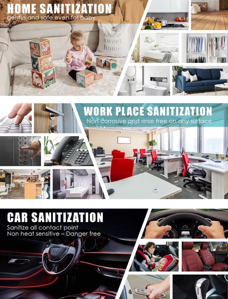 against nano silver disinfectant POSM-03